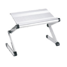 "Laptop Desk Alu. Panel Foldable Height Adjustable Upto 17"" (T2B)"